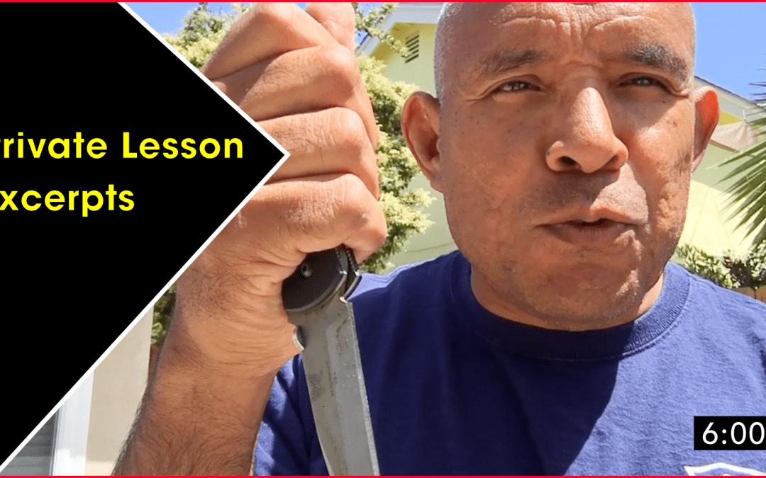 Private Lesson & Seminar Sale
