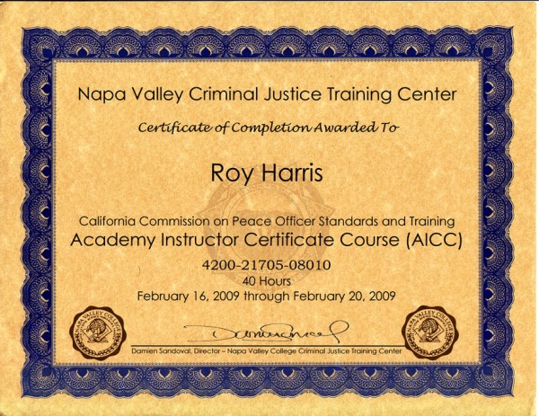 AICC-certificate